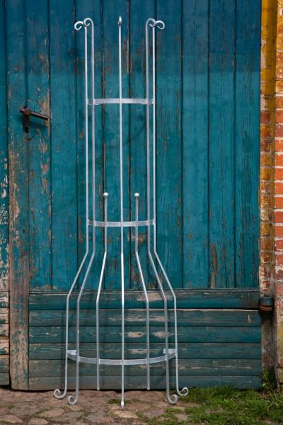 wandrankgitter verzinkt h 200cm rankgitter metall rankhilfe blumenwand. Black Bedroom Furniture Sets. Home Design Ideas