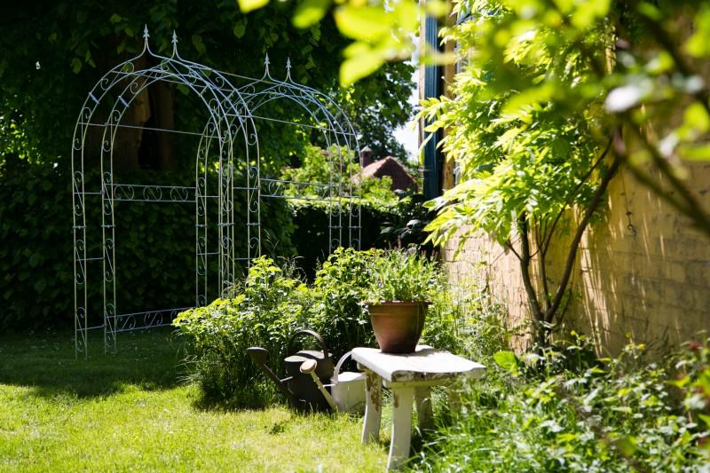 laubengang rosenbogen metall rankgitter verzinkt zink ebay. Black Bedroom Furniture Sets. Home Design Ideas