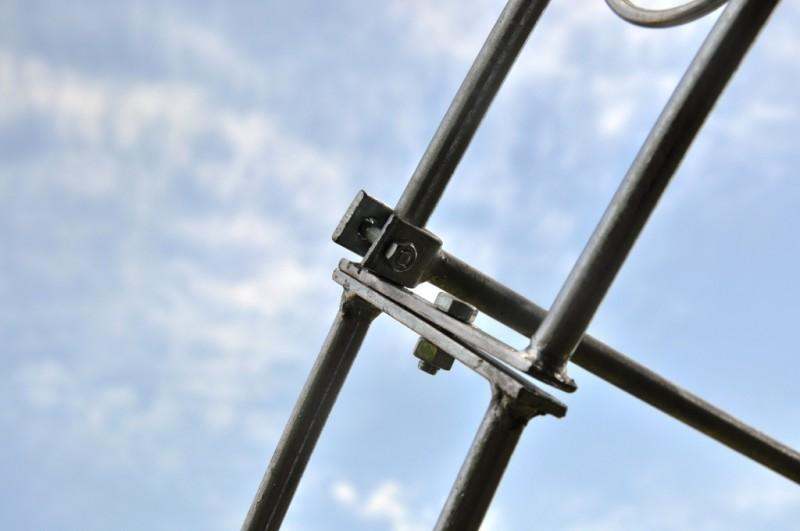 Laubengang rund 160cm Breite Metall Verzinkt