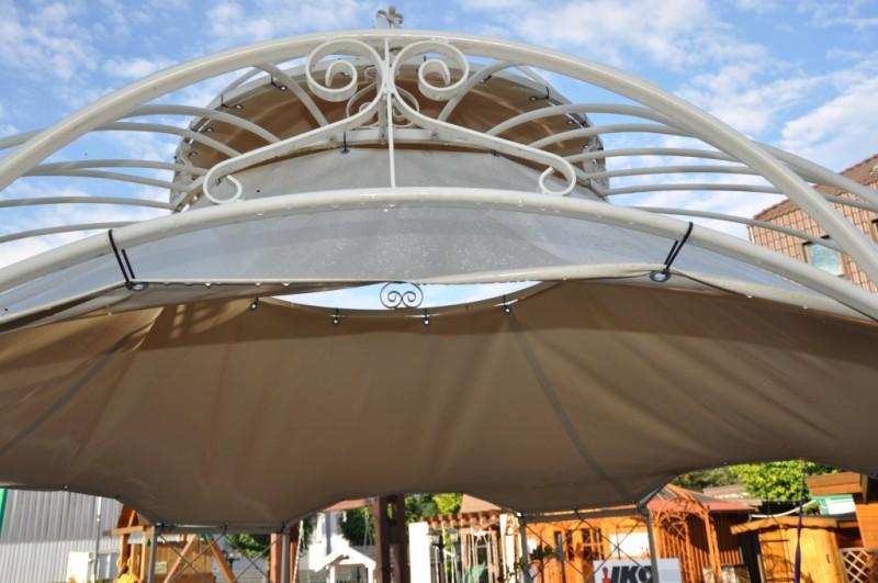 sonnenschutz f r pavillon romantik 400cm. Black Bedroom Furniture Sets. Home Design Ideas