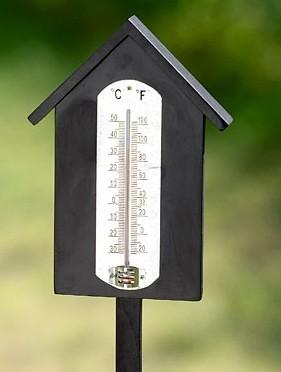 Thermometer zum stecken haus for Alternative zum haus